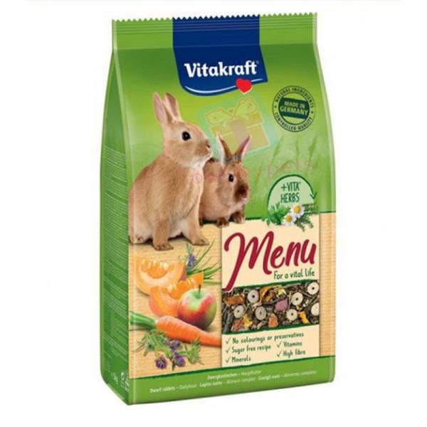 Vitakraft Menu Rabbit food 1 kilo
