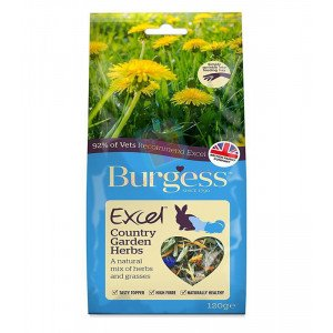 Burgess Excel Snacks Country Garden Herb...