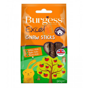 Burgess Excel Snacks Gnaw Sticks 90g...
