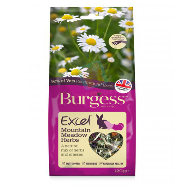 Burgess Excel Snacks Mountain Meadow Her...