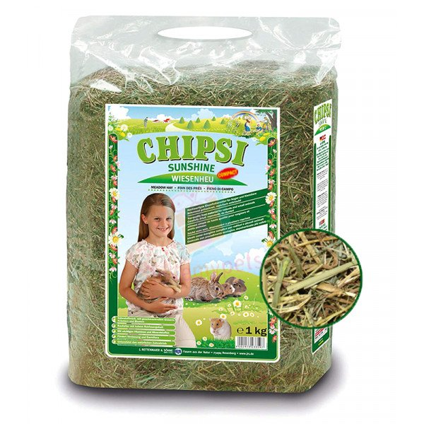 Chipsi Sunshine Meadow Hay 1kg
