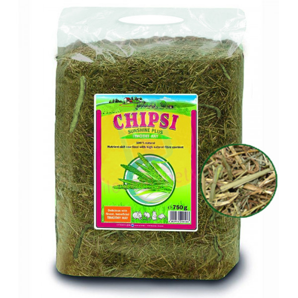 Chipsi Sunshine Plus Timothy Hay, 750 gr...
