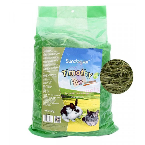 Sundog Highland Timothy Hay 450 grams