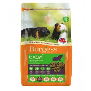 Burgess Excel Adult Guinea Pig Nuggets w...