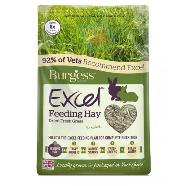 Burgess Excel Feeding Hay Dried Fresh Gr...