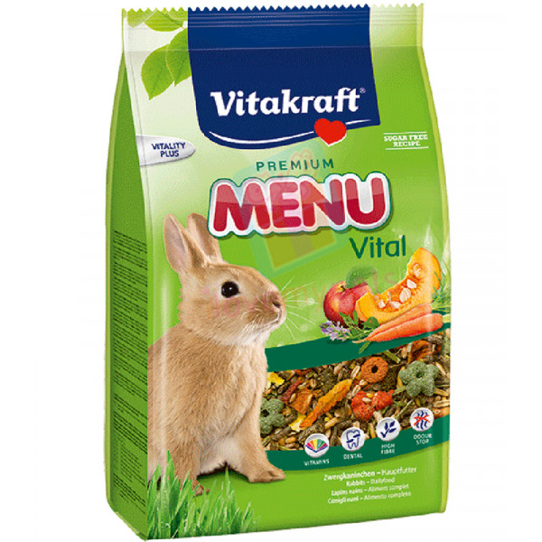 Vitakraft Menu Rabbit food 1 kilo