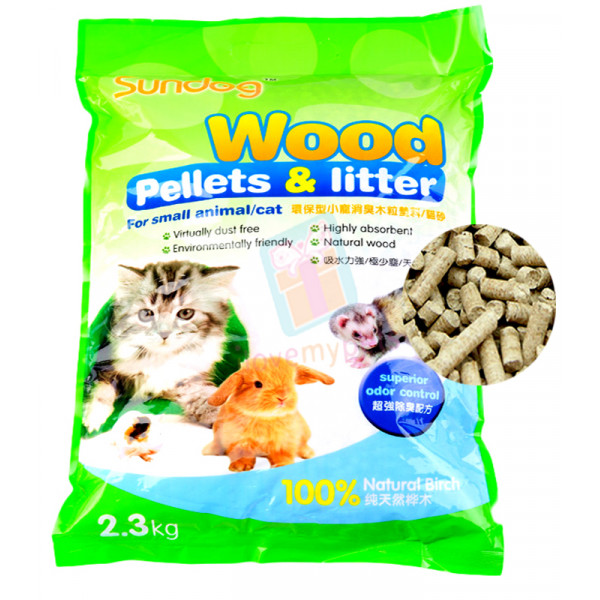Sundog Wood Pellets Litter 2.3 kg (for C...