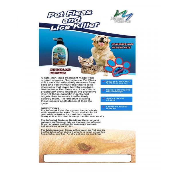 Nutriscience Pet Fleas and Lice Killer 200 mL