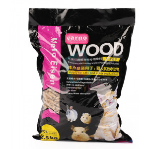 Carno Wood Bedding & Litter 2.5 kg...
