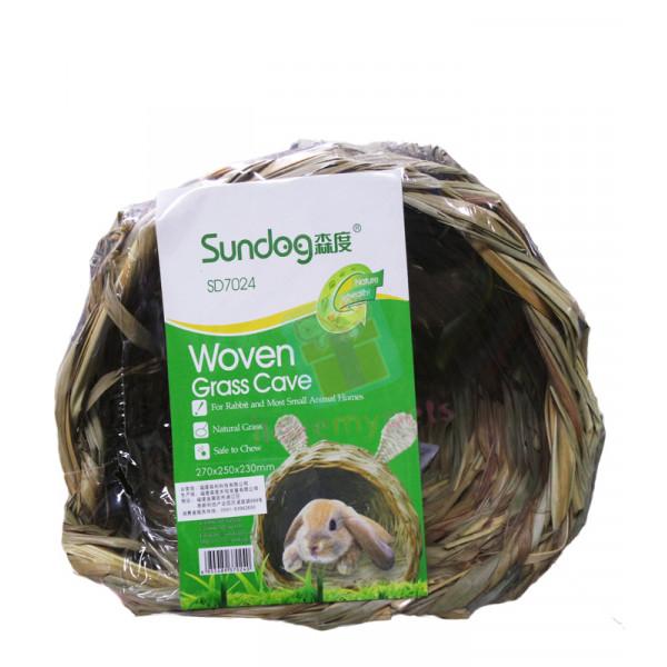 Sundog Rabbit Ears Woven Grass Cave
