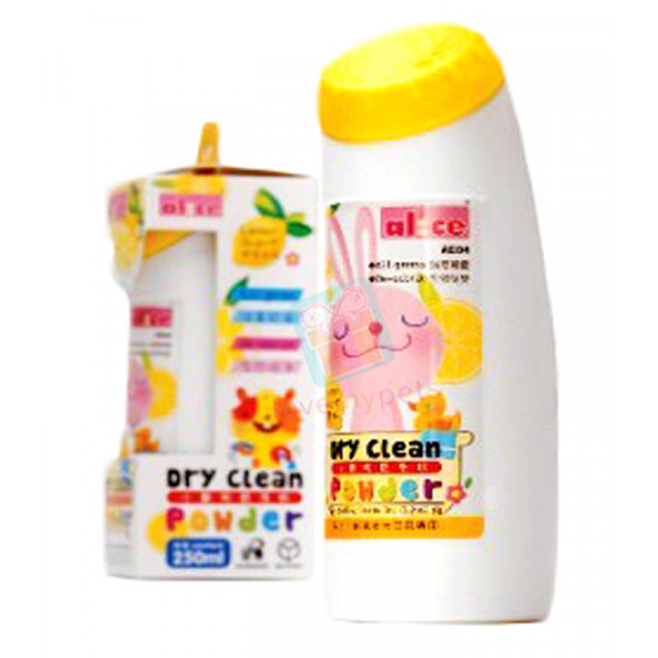 Alice Dry Clean Powder Lemon Scent 250 m...