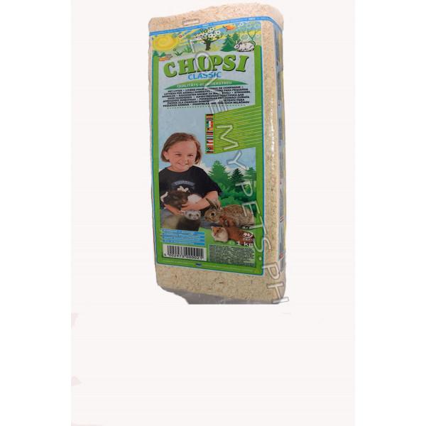 Chipsi Organic bedding 1 kg. Classic