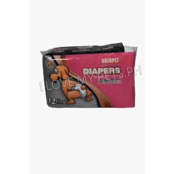 Hush Pet Deluxe Diaper XS 12's