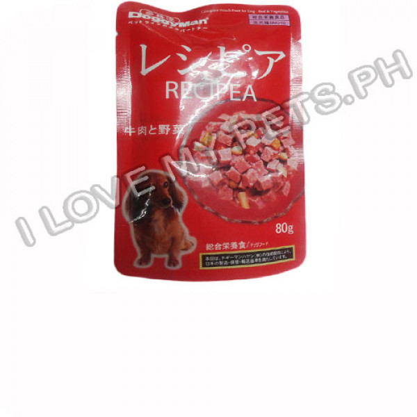 Doggyman Pouch Feast For Dog, Beef &...
