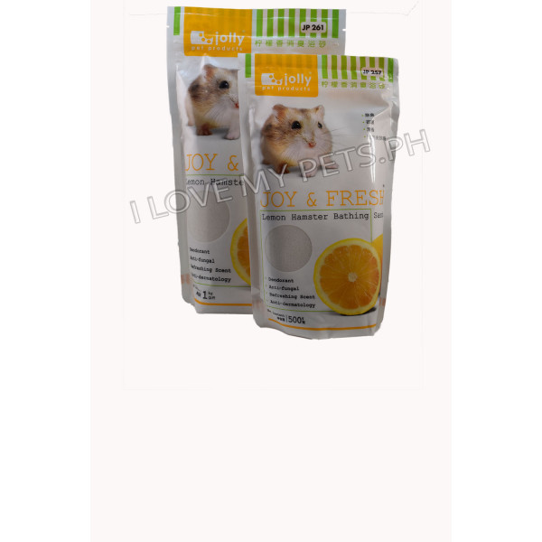 Jolly Hamster Bathing Sand Lemon 500g