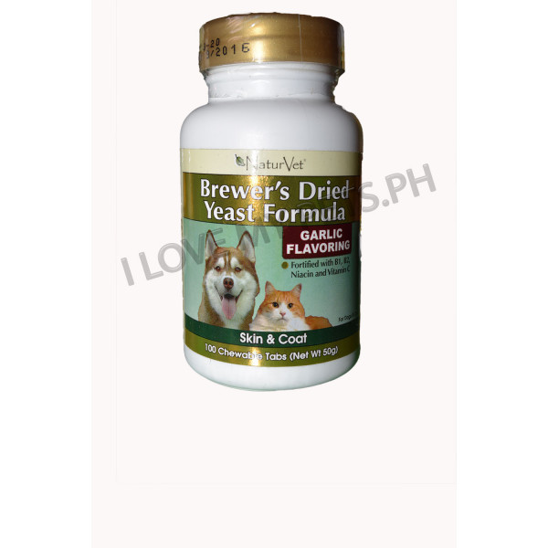 NaturVet Brewer's Dried Yeast Formula Ga...