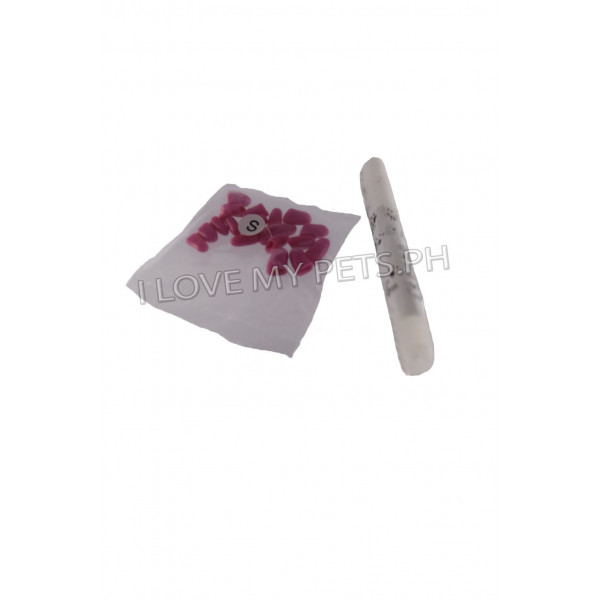 20 pcs. Soft nail caps for pet claw cont...