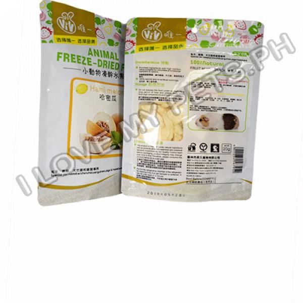 Vivo Freeze Dried Treats for Small Animals, Melon, 100% natural