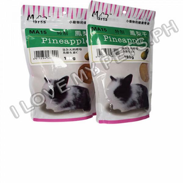 Marsa Pineapple, Treats for small animal...