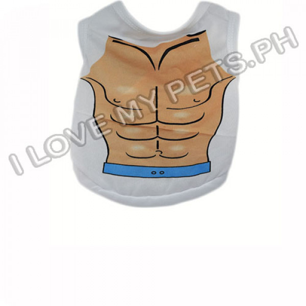 Beach Body Muscle Polyester Shirt