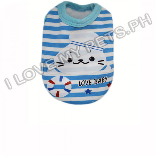 Abby Abby Love Baby Stripped Cotton Shir...