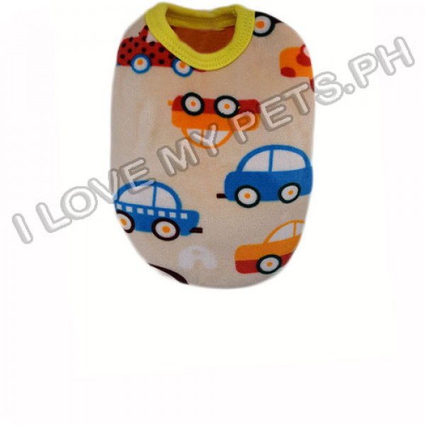 Abby Abby Colorful Cars Cotton Shirt