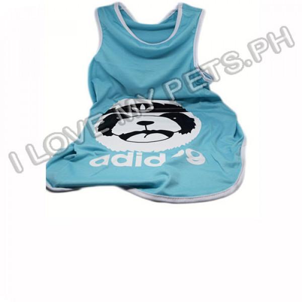 Adidog Cotton Shirt (Blue)