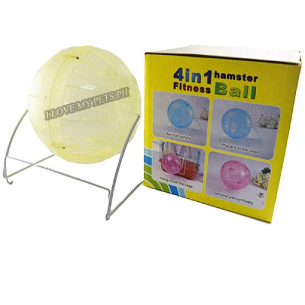 Carno 4 in 1 hamster fitness ball 4.5 in...