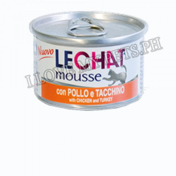 Monge LeChat Mousse cat food, 85g Chicke...
