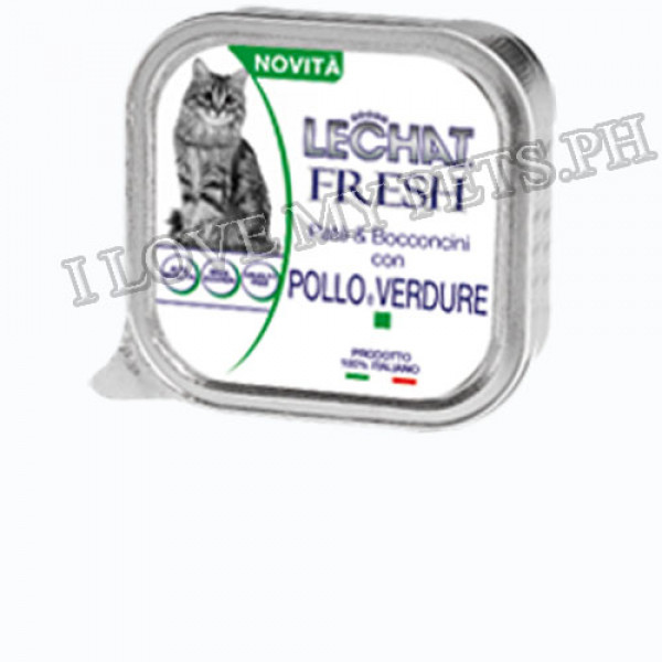 Monge LeChat Fresh Cat Food 100g - Chick...