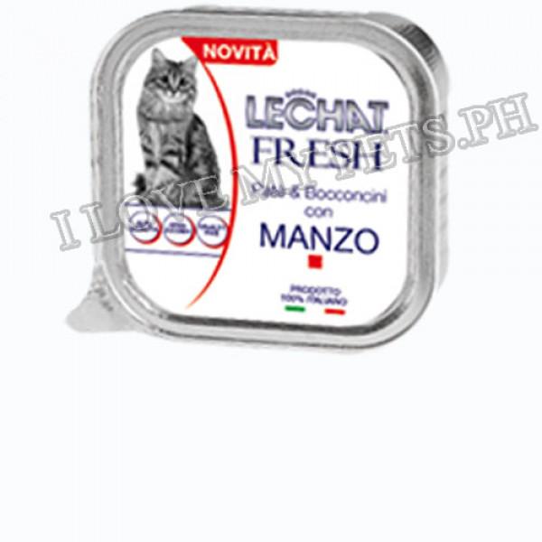Monge LeChat Fresh Cat Food 100g - Fresh Beef