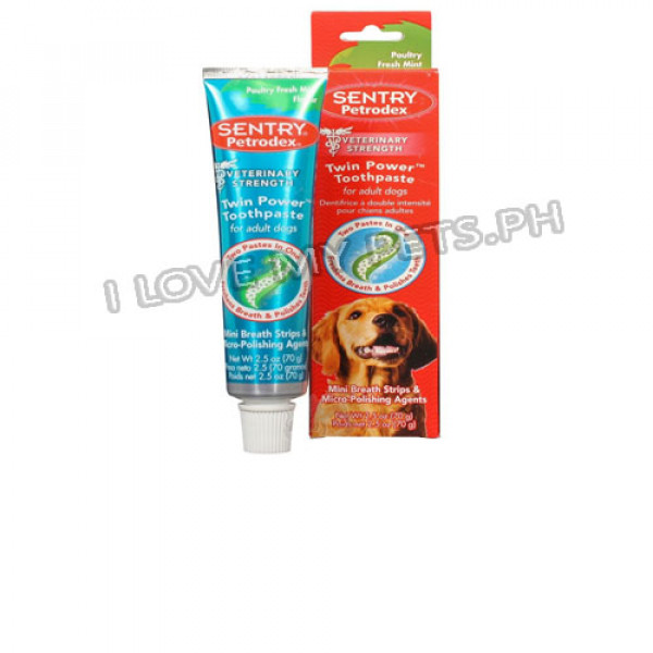 Sentry petrodex twin power toothpaste, 7...