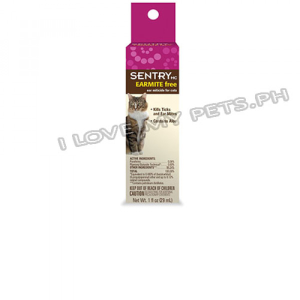 Sentry Earmite Free, Ear Miticide For ca...