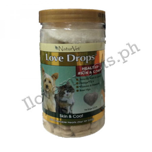 Naturvet love drops 200's tablets