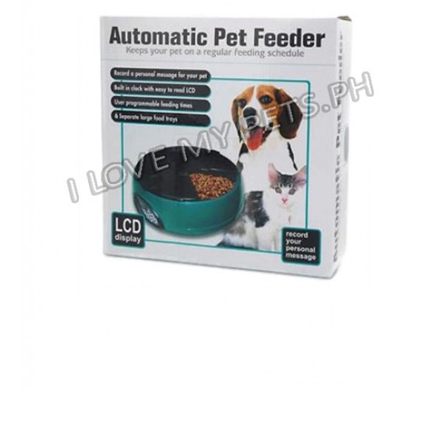 6 Meal Automatic Pet Feeder (Programmabl...