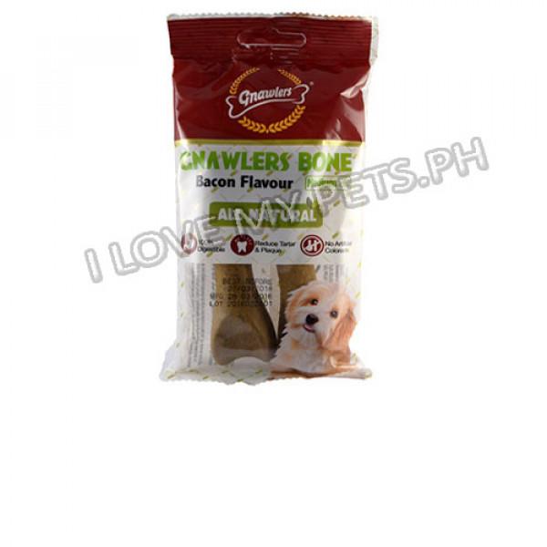 Gnawler Bone Bacon (2's) All natural