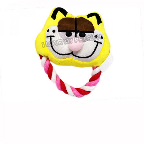 Character Tugger Toys w/ Squeaker Garfie...