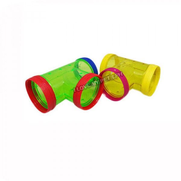 Hamster House Tubing Pipe T-Shape (1 pc....