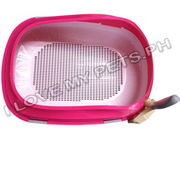 Elegant Cat litter Pan w/ Pull Out Tray ...