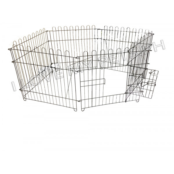 Pet Crates Fence, 6D-A2 (63cmx63cmx6) or...