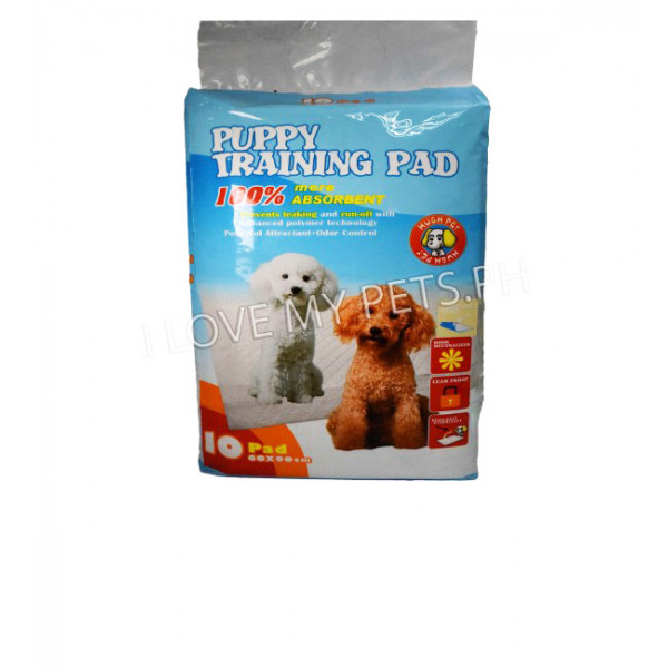 Hush Pet Puppy Training Pads 10pcs. 60X9...