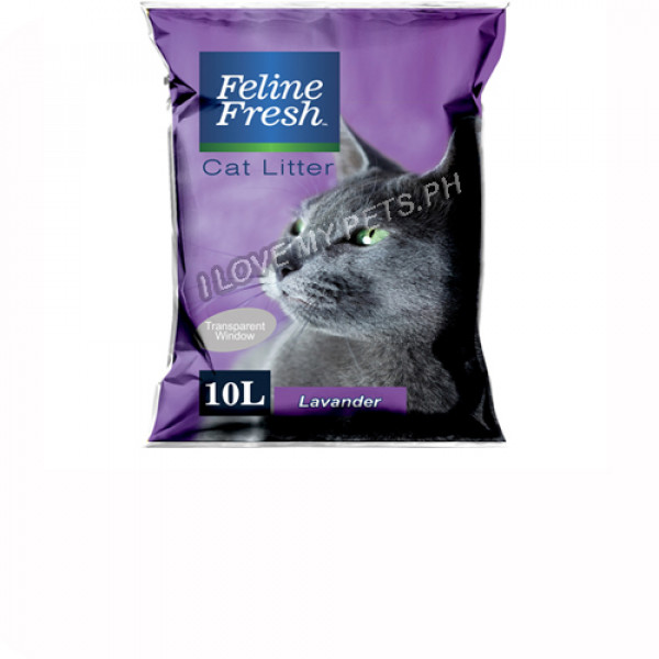 Feline Fresh Cat Litter 10 Liter - Lavan...
