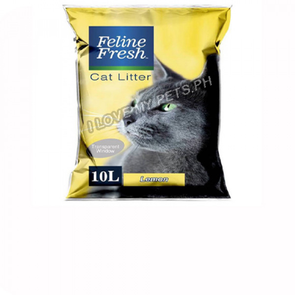 Feline Fresh Cat Litter 10 Liter - Lemon...