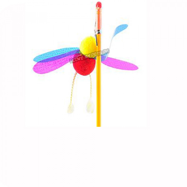 Cat teaser toy, cute insects, Bee