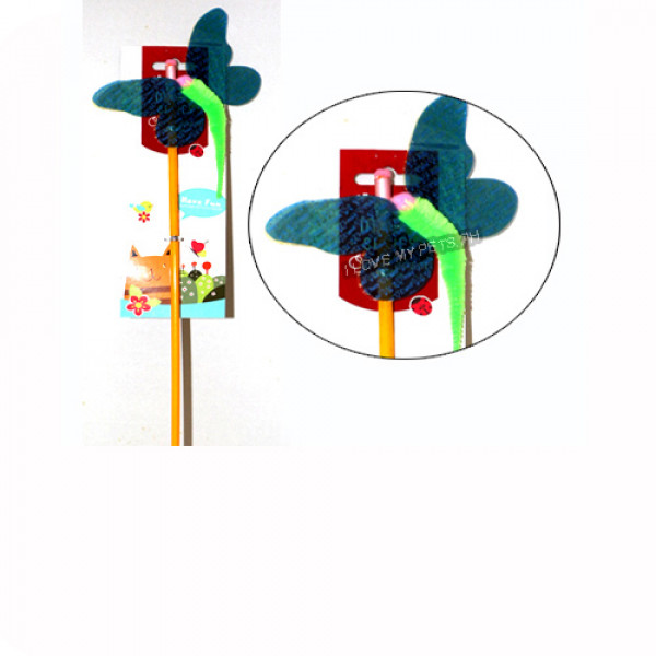 Cat teaser toy, cute insects, Dragonfly