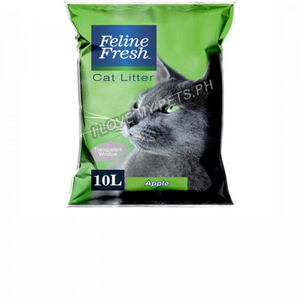 Feline Fresh Cat Litter 10 Liter - Apple...