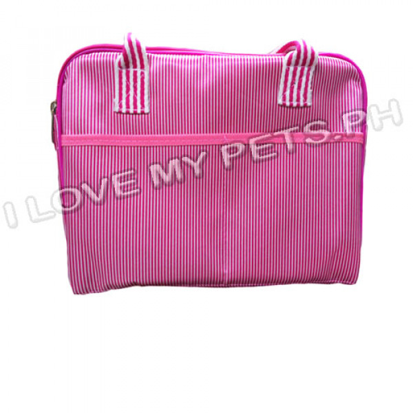 Comfy soft sided pet carrier, pink large