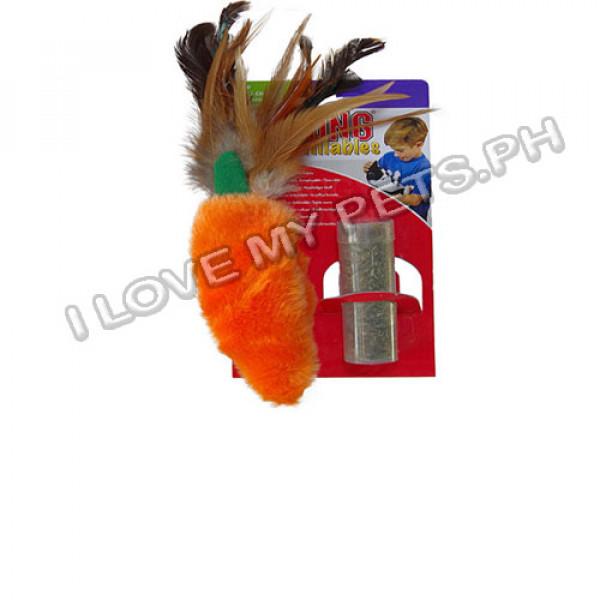 Kong Refillables, Carrot Pouch W/ Catnip...
