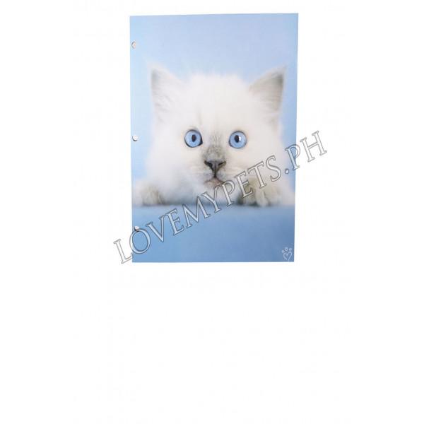 Rachellehale Folder w/ pocket cat design
