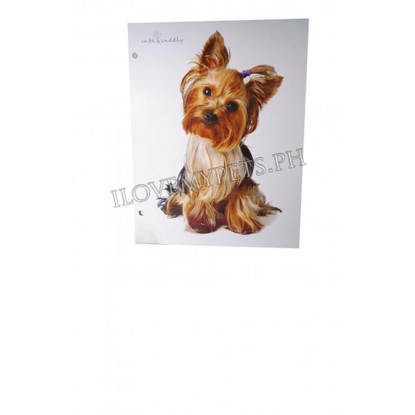Fineline Folder w/ pocket Dog Design